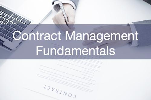 Contract Management Fundamentals